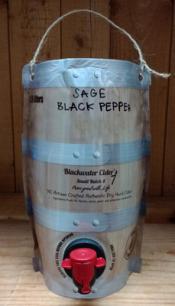 Sage and Black Pepper Cider